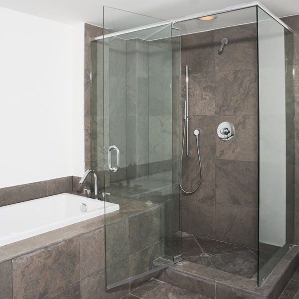 Shower Doors GMA Glass Mirror America - Bathroom shower glass replacement
